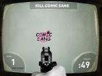 ¡Bingo! Has dado de lleno en tu objetivo: matar a Comic Sans