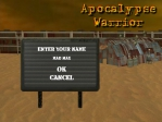 Elige el nombre de tu jugador en Mad Max Guerrero del Apocalipsis