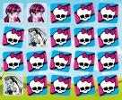En el 5x4 de Monster High hay 20 imágenes que unir en 10 parejas