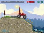 Recogiendo monedas con el Monster Truck