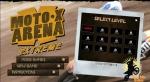 Empieza por abajo e intenta superar los 12 niveles disponibles en Moto X Arena Extreme
