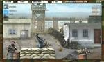 Dispara a los enemigos que van apareciendo por la pantalla en Operation Fox