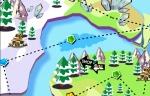 Recorre el mapa de Penguin Adventure 3