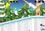 Recorre todos los niveles de Penguin Adventure 3 con tu pingüino recogiendo monedas y estrellas