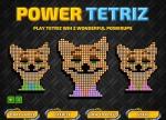 Power Tetriz es idéntico a la versión clásica pero con dos pequeños power-ups