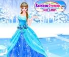 Observa cómo le queda el conjunto a la Princesa Frozen