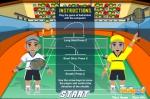Podrás hacer tres diferentes tipos de tiro en Supa Badminton