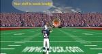 En Super Bowl deberás intentar colar la pelota por aros que danzan por la pantalla