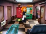 Explora las diferentes habitaciones del motel en busca de ayuda