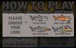 Elige entre 4 tipos de tiburón diferentes para comenzar tu reinado de terror