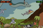 Impúlsate fuera del agua para atacar a dinosaurios terrestres de toda índole