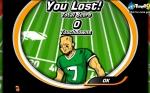 Intenta anotar todos los touchdown que puedas antes de que se agote el tiempo