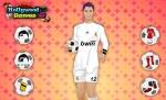 La camiseta del Madrid le queda genial a Cristiano en 'Vestir a Cristiano Ronaldo'