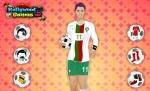 No podía faltar la zamarra de su selección nacional en 'Vestir a Cristiano Ronaldo'