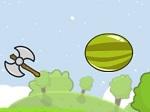 Jugar gratis a Hacha vs Fruta