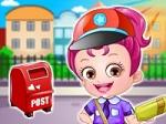 Jugar gratis a Baby Hazel Postwoman Dressup