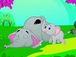 Jugar gratis a Despertar a Mamá Elefante
