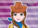 Jugar gratis a Elsa y Anna se disfrazan de vaqueras