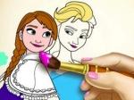 Jugar gratis a Cuaderno de Pintar de Frozen
