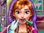 Princesa Anna en el Dentista