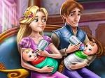 Jugar gratis a Día con los gemelos de Rapunzel