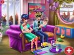 Jugar gratis a Día de familia de Dotted Girl