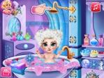 Elsa: Baño de burbujas