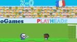 Jugar gratis a Campeonato del mundo de fútbol cabezón