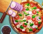 Jugar gratis a Cocina una pizza de verdad