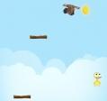 Jugar gratis a El pollo saltarín y feliz