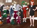 Jugar gratis a Viste de Navidad a las Instagirls