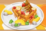 Jugar gratis a Yummy Waffle Ice Cream