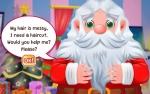 Jugar gratis a Santa Haircut
