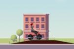 Jugar gratis a Wheelie Biker