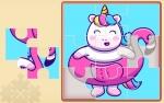 Jugar gratis a Puzles de unicornios arcoíris