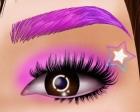 Maquillaje de ojos de princesa