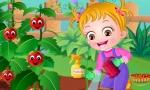 Jugar gratis a Baby Hazel trabaja en el jardín
