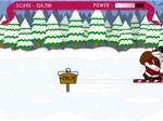 Jugar gratis a Santa Ski Jump