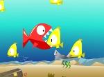 El pez come pescado