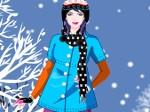 Viste a la chica de invierno