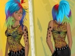 Jugar gratis a Tattoo Mirror Dress up