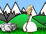 Jugar gratis a Little Bo Peep's Sheep Toss