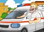Locura en ambulancia