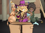 Jugar gratis a Back-Alley Blackjack