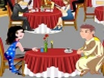 Cena en el restaurante