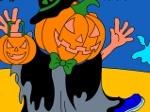 Jugar gratis a Colorear: Jack-O-Lantern Halloween