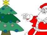 Jugar gratis a Colorear a Santa Claus