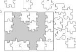Puzzle Blanco