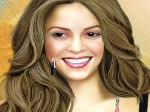 Peinar y maquillar a Shakira
