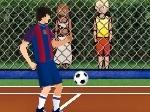 Jugar gratis a Fútbol tenis Gold Master